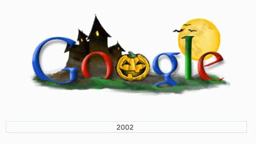 Doodle Google Hallowen