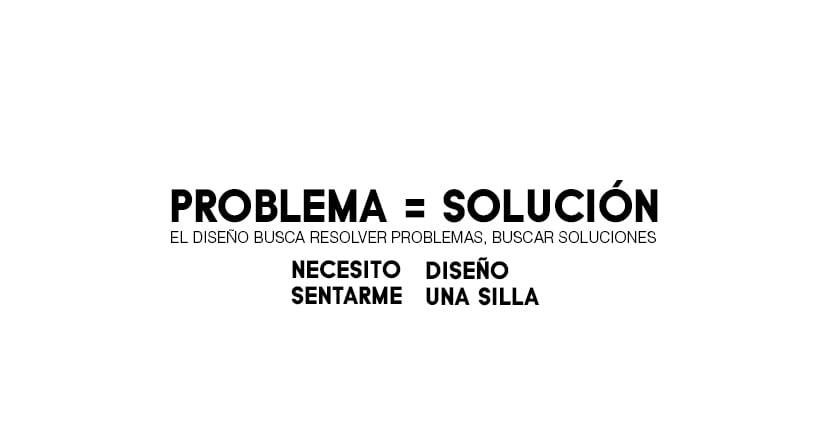 el diseño busca resolver un problema