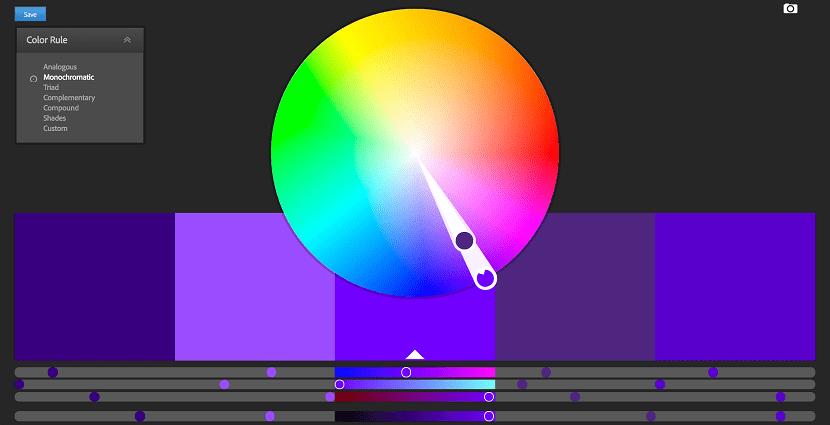 herramientas de color para disenadores