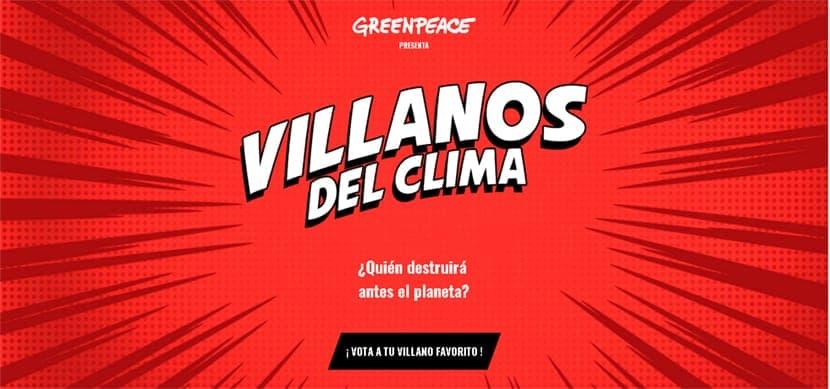 Los villanos del clima