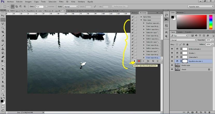 Aplicamos una acción en una imagen con un simple click
