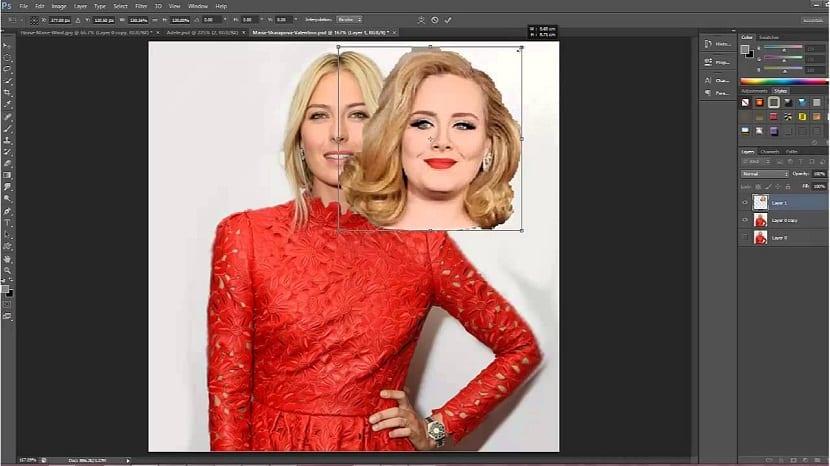 Cambiar cara con Photoshop