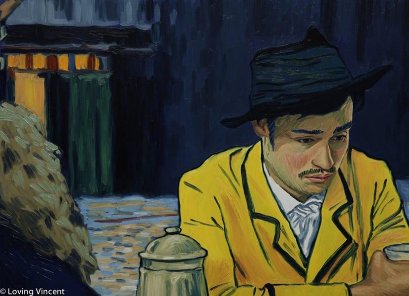 La película loving vincent fue pintada totalmente con óleo