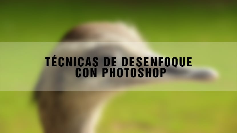 Domina el desenfoque con Photoshop