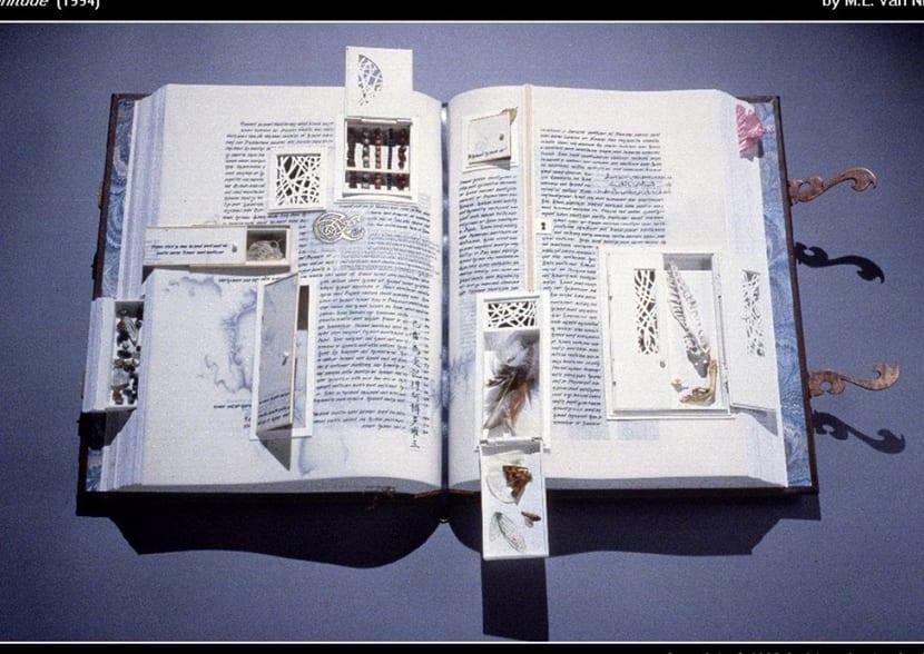 un libro de artista nos permite experimentar
