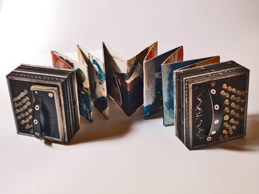 Un libro de artista puede tener cualquier forma imaginable