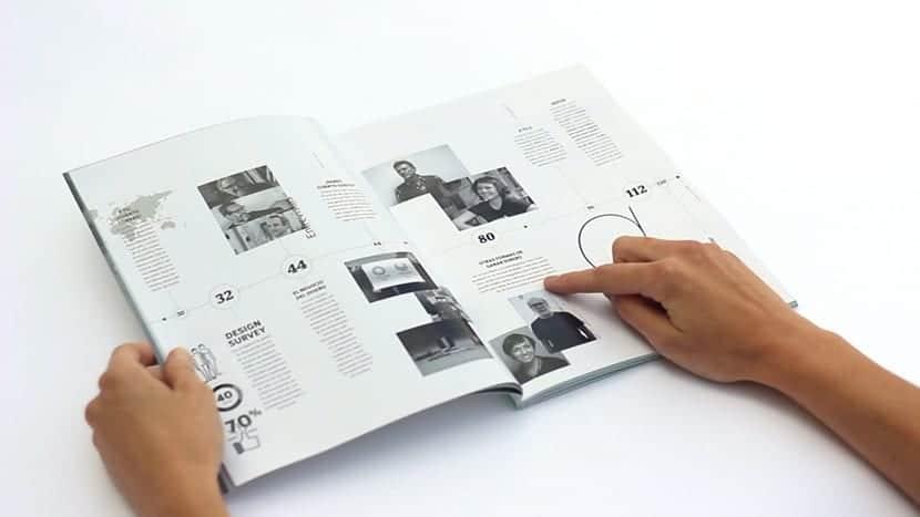 La revista Gráffica tiene una maquetación muy cuidada
