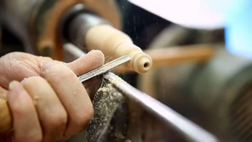 Uno de los soportes del producto tot-em es la madera