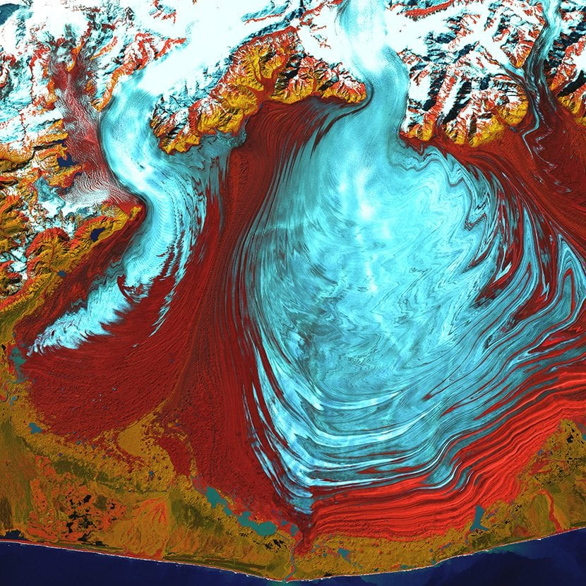 Glaciar Malaspina