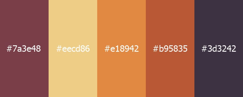 Las distintas gamas de colores con sus usos y combinaciones - Colores tierra para salon ...