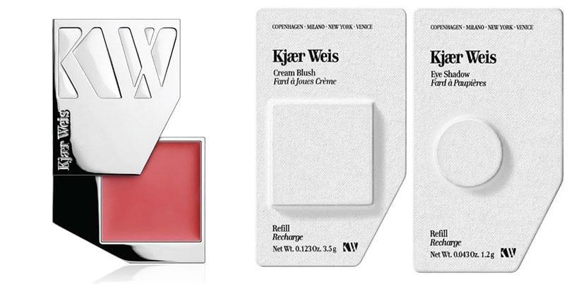 Cosmetico rellenable de Kjaer Weis