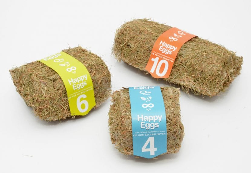 Packaging sostenible de huevos