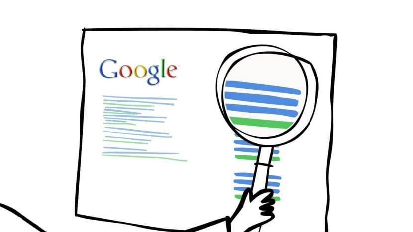Google analiza el contenido