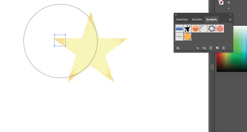 Crea textura con el spray de símbolos de Illustrator