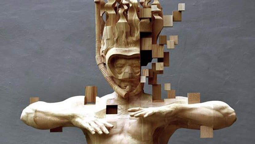 talla madera