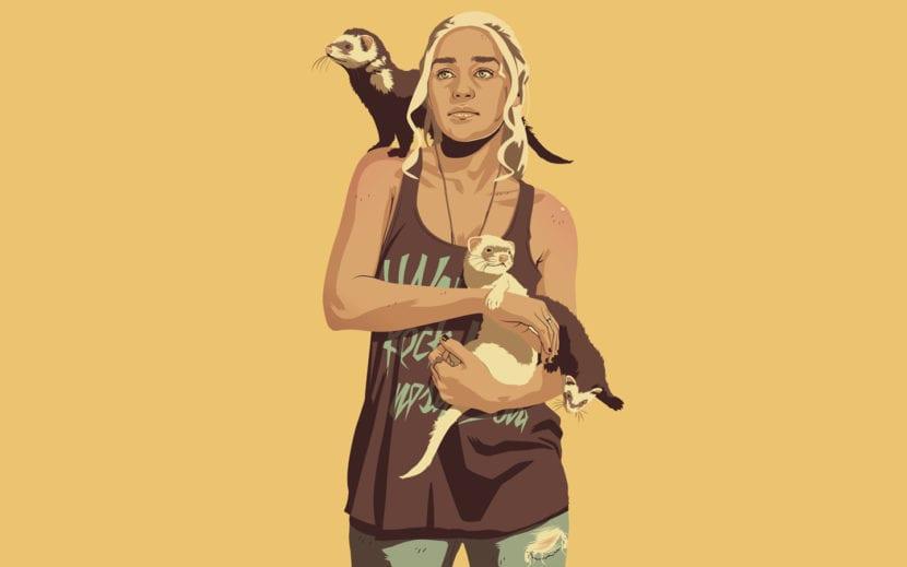 Daenerys Targaryen de Mike Wrobel