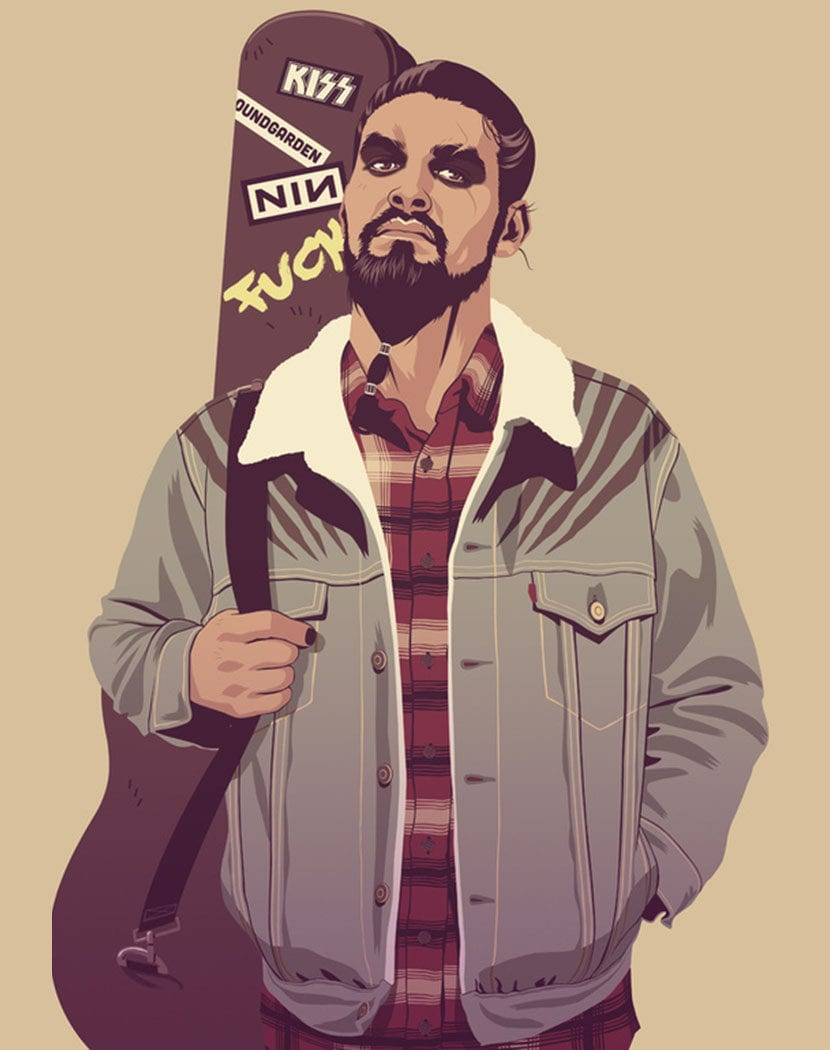 Drogo por Mike Wrobel