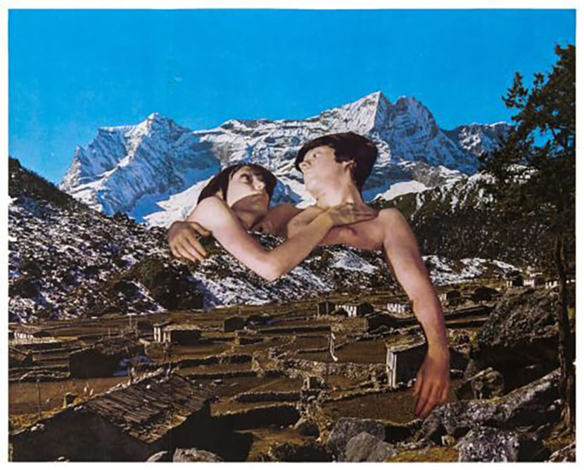 Collage gigantes los de Guillaume Chiron