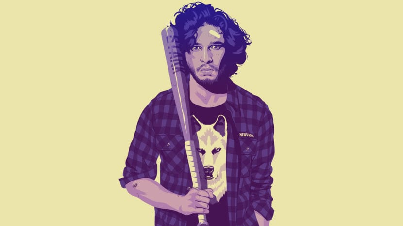 Jon Snow de Mike Wrobel