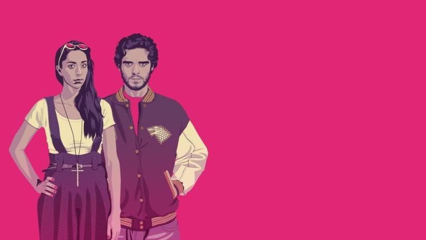 Robb Stark y Talisa de Mike Wrobler