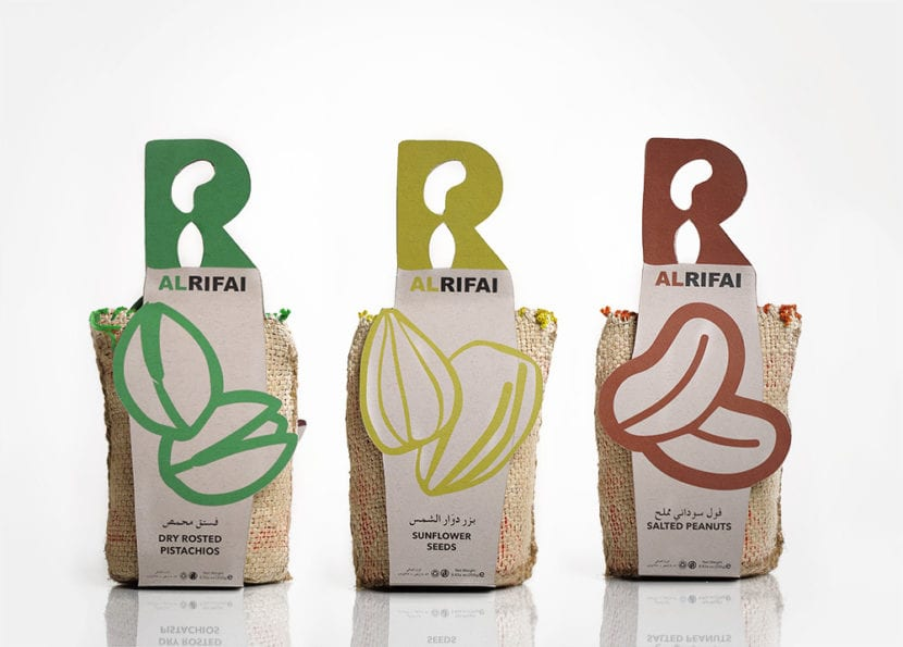 Packaging de Alrifai
