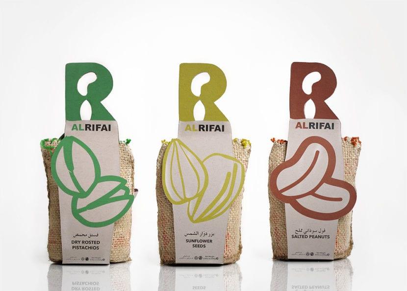 Packaging de Alrifai