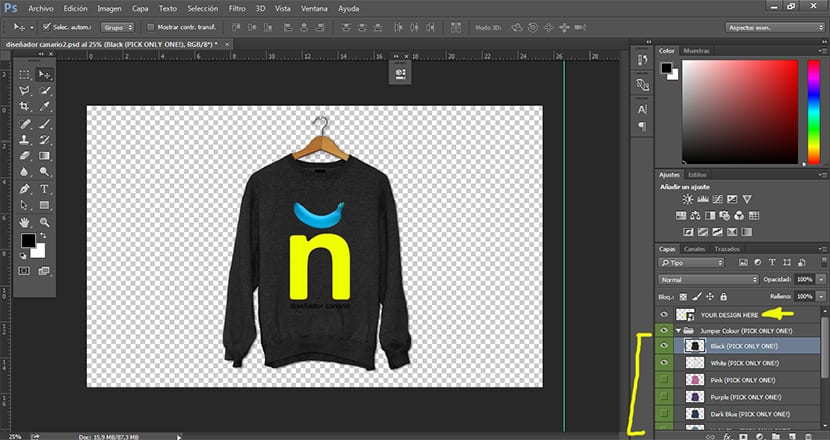 Visualiza tus propios diseños gracias a los mockups