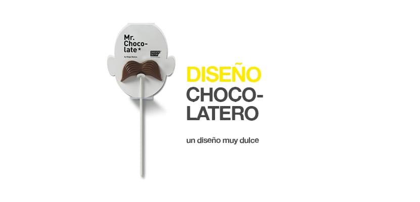 diseño de tabletas de chocolate