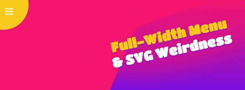 Full menu SVG
