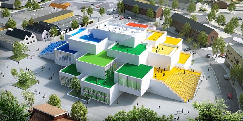 La obra Danesa para los amantes de los Legos