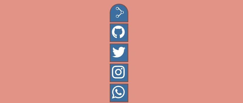 Botones compartir