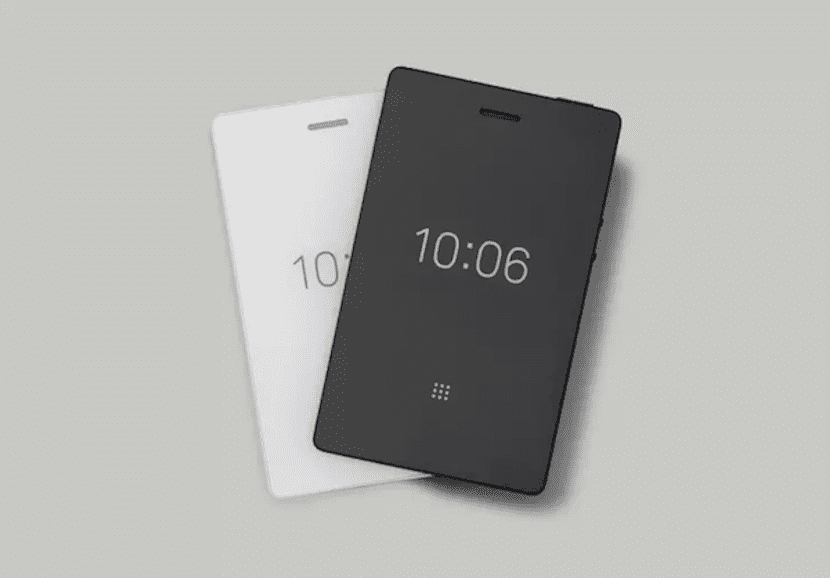 Light Phone blanco y negro