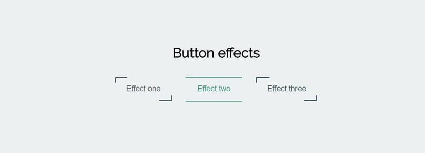 Tres efectos
