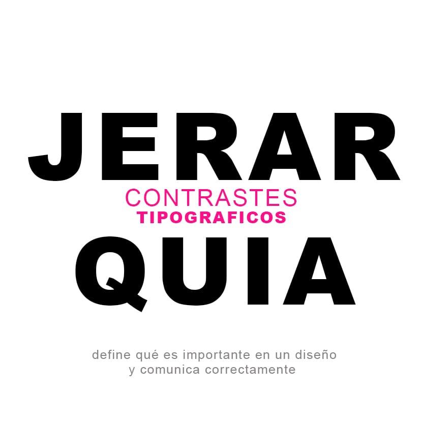 La importancia de la tipografía y los contrastes tipográficos en un diseño