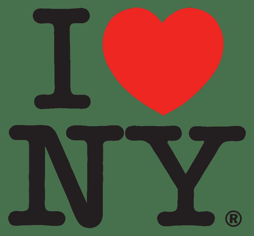 I love New York la fuerza del corazón para representar una ciudad
