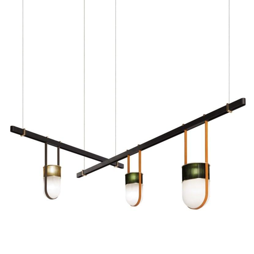 Lámparas Xi por Neri y Hu