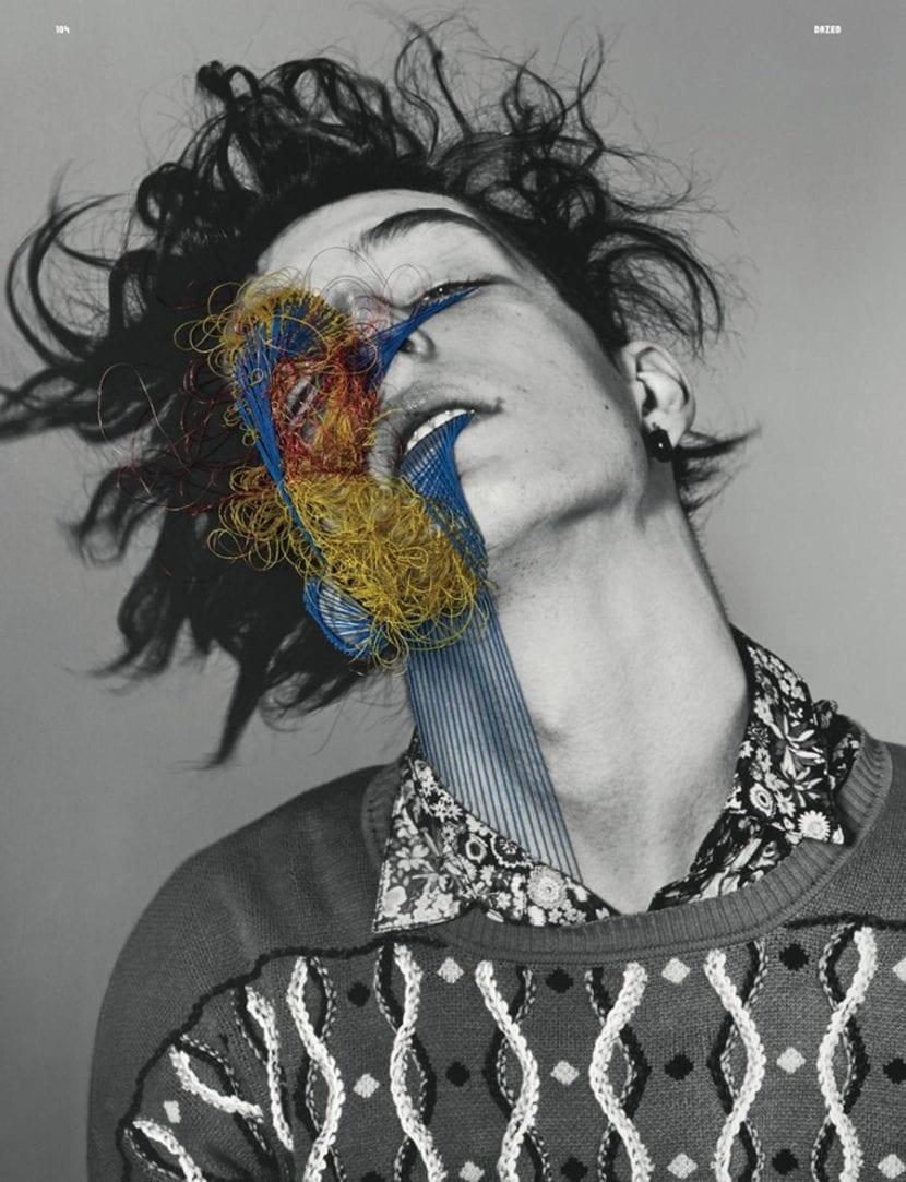 Intervención fotográfica de Maurizio Anzeri