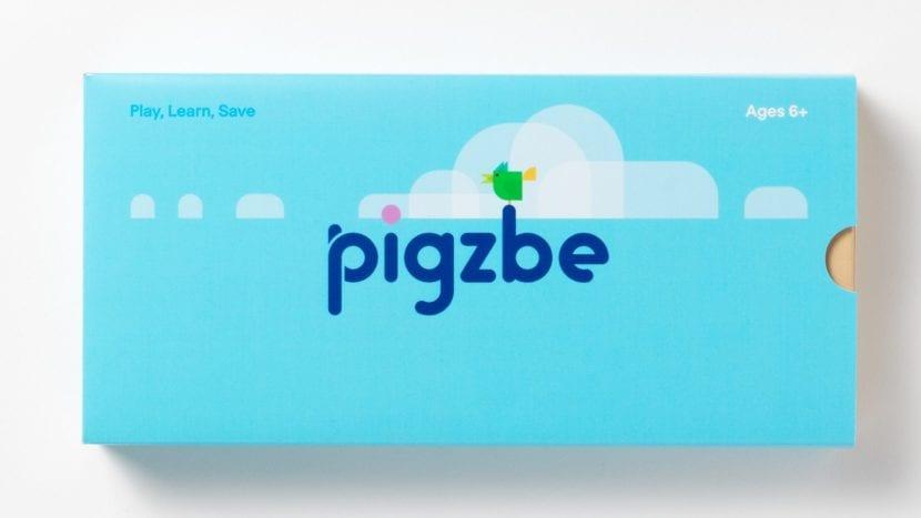 Packaging de Pigzbe app sobre cripotmoneda
