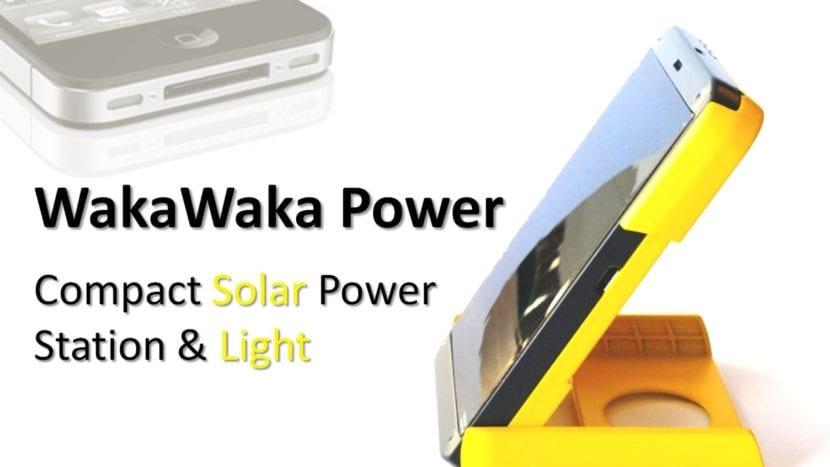 Waka Waka Estación Solar