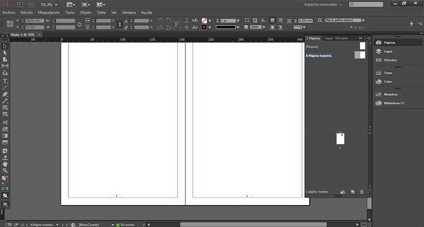 Añade el texto para crear el marcador de página