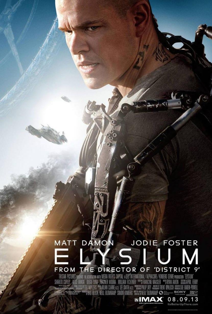 La pelicula Elysium muestra la lucha de clases en el futuro