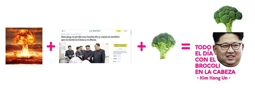 La formula del collage