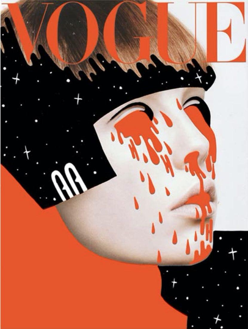 Portada de revista Vogue de Hattie Stewart