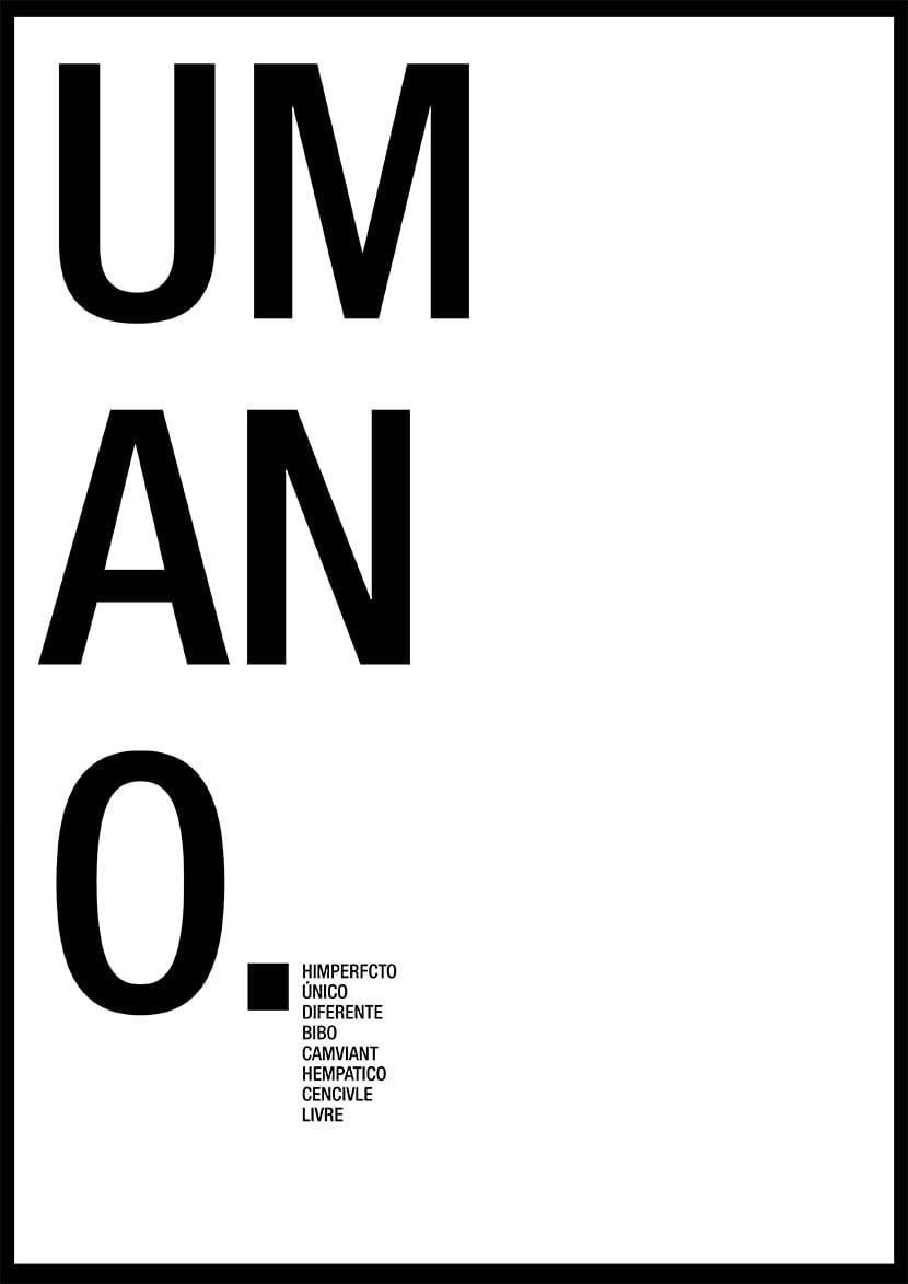 Jugar con la tipografía y las palabras