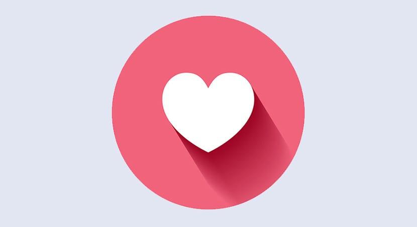 La red social de Facebook añadió un corazón a su catálogo de reacciones