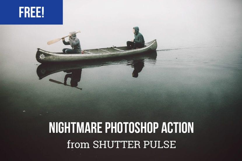Acción para Photoshop Ambiente Siniestro
