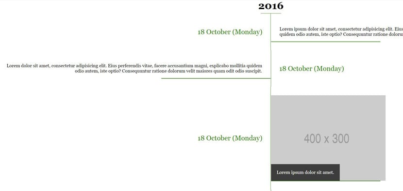 Timeline CSS
