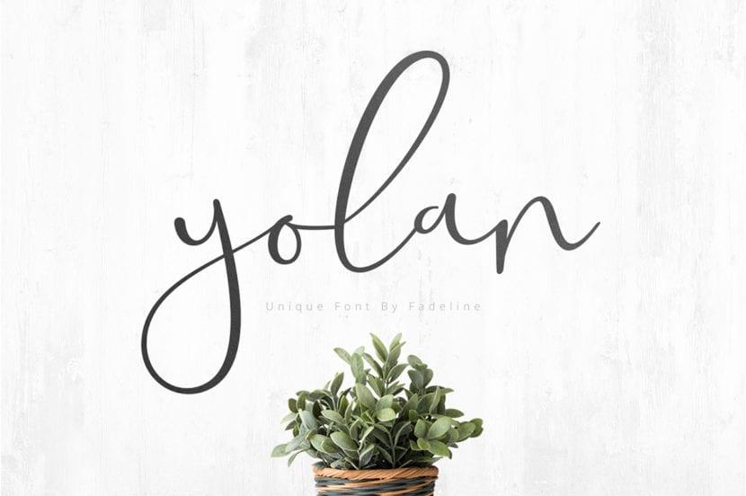 Yolan Font