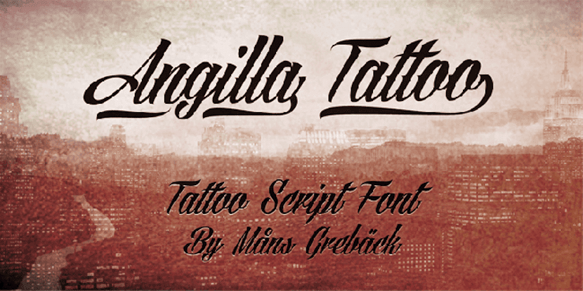 Angilla tipografías