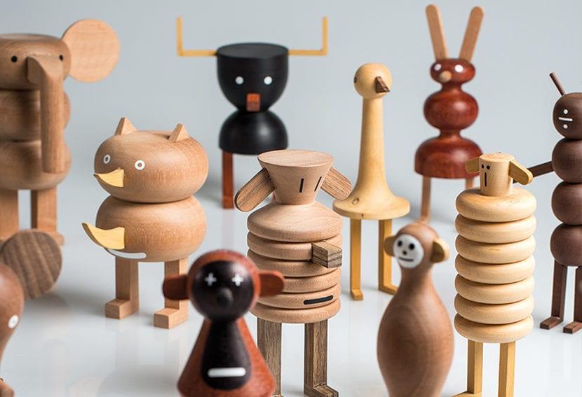 Los juguetes de madera de Isidro Ferrer